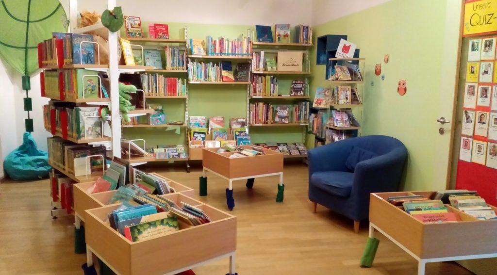 Kinderbücher Raum